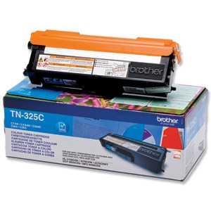 originál Brother TN-325C cyan modrý azurový originální toner pro tiskárnu Brother MFC-9560CDW