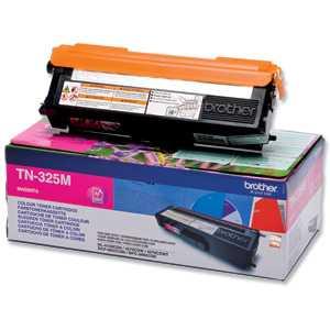 originál Brother TN-325M magenta purpurový červený originální toner pro tiskárnu Brother MFC-9560CDW