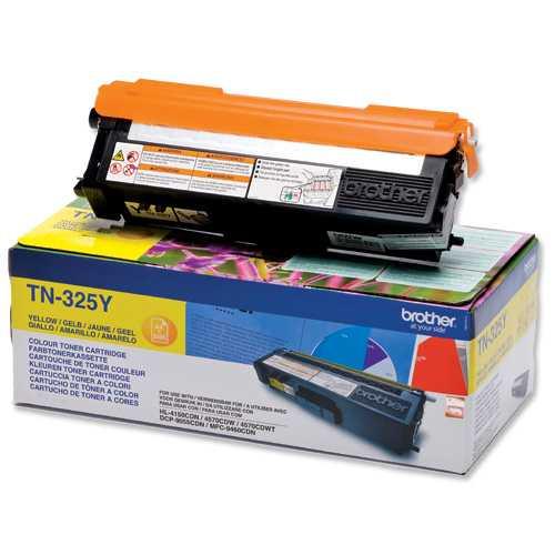 originál Brother TN-325Y yellow žlutý originální toner pro tiskárnu Brother MFC-9560CDW