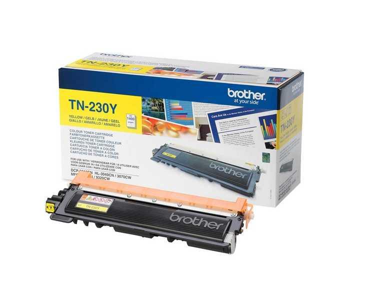 originál Brother TN-230Y yellow žlutý originální toner pro tiskárnu Brother MFC-9120CN