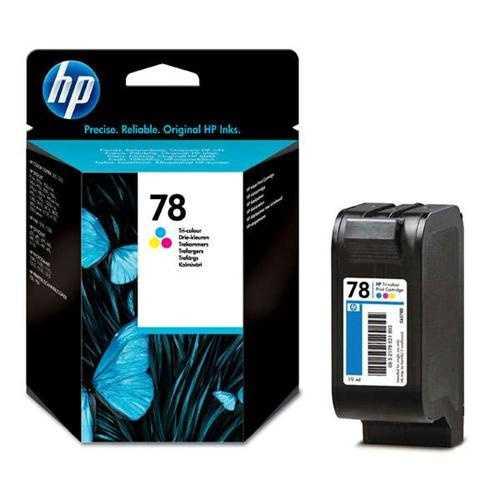 originál HP 78 (C6578D) color barevná cartridge originální inkoustová náplň pro tiskárnu HP PSC 700