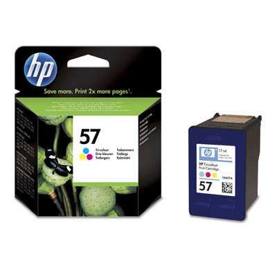 originál HP57 (C6657AE) color barevná cartridge originální inkoustová náplň pro tiskárnu HP OfficeJet 6110