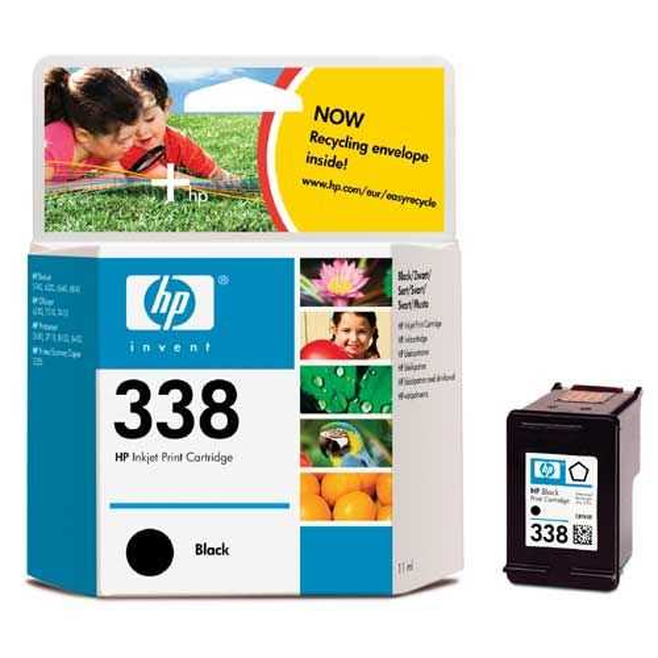 originál HP 338 (C8765EE) black černá cartridge originální inkoustová náplň pro tiskárnu HP OfficeJet 7310