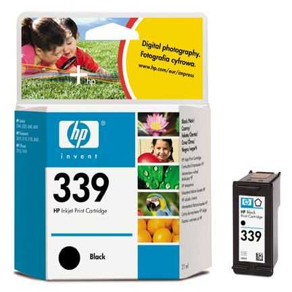 originál HP 339 (C8767EE) black černá cartridge originální inkoustová náplň pro tiskárnu HP OfficeJet 7310
