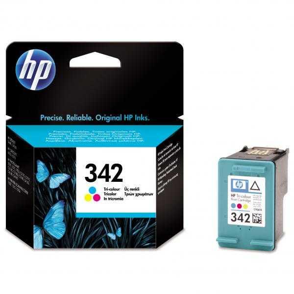 originál HP 342 (C9361E) color barevná cartridge originální inkoustová náplň pro tiskárnu HP Photosmart C4180