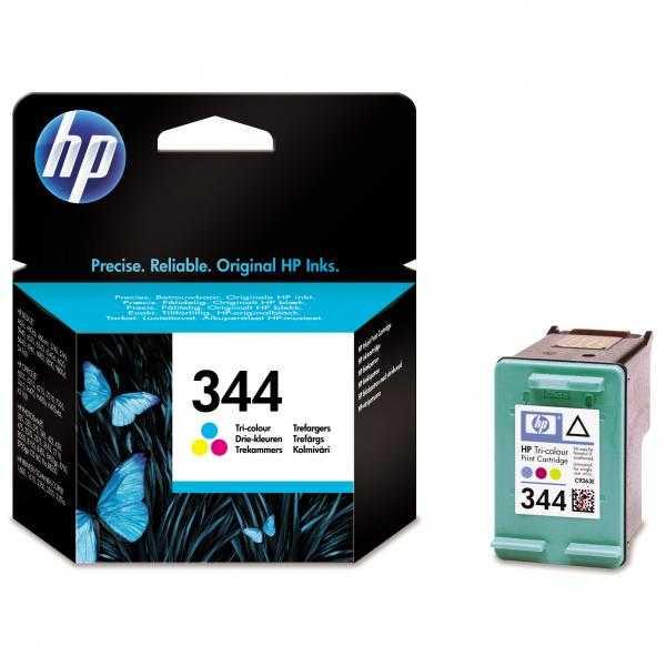 originál HP 344 (C9363EE) color barevná cartridge originální inkoustová náplň pro tiskárnu HP OfficeJet 7210