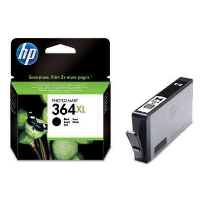 originál HP 364XL-BK (CN684EE) black černá originální cartridge pro tiskárnu HP Photosmart B109