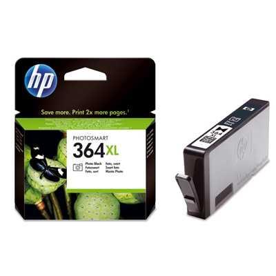 originál HP 364XL-Pbk (CB322EE) foto černá originální cartridge pro tiskárnu HP Photosmart C5380