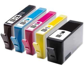 sada 5x HP 364XL (HP364XL BK, HP364XL PBK, HP364XL C, HP364XL M, HP 364XL Y) kompatibilní inkoustové cartridge pro tiskárnu HP Photosmart Premium C309g