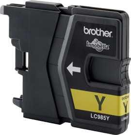 originál Brother LC985y yellow cartridge žlutá originální inkoustová náplň pro tiskárnu Brother MFC-J415W