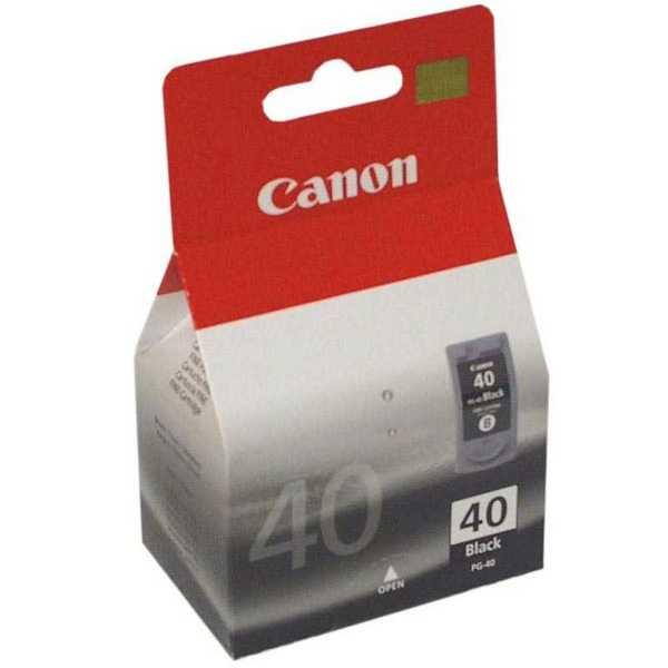 originál Canon PG-40 black cartridge černá originální inkoustová náplň pro tiskárnu Canon FAX-JX500