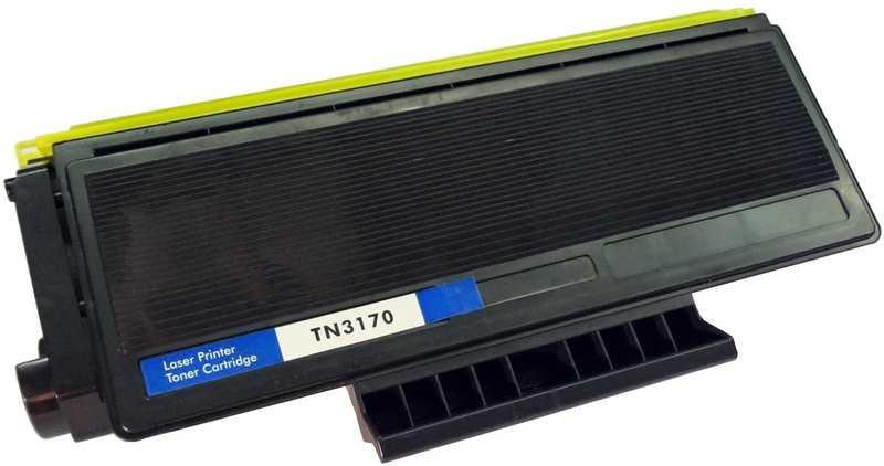 2x kompatibilní toner s Brother TN-3170 black černý toner pro laserovou tiskárnu Brother HL-5270DN