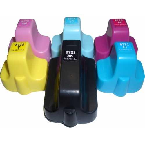2x sada HP363 (Q7966EE) cartridge inkoustová kompatibilní náplň pro tiskárnu HP Photosmart C5180