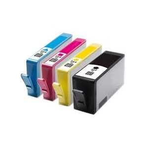 2x sada 4x HP 364XL (HP364XL BK, HP364XL C, HP364XL M, HP 364XL Y) kompatibilní inkoustové cartridge pro tiskárnu HP Photosmart B110