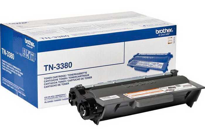 originální Brother TN-3380 (8000 stran) černý originální toner pro tiskárnu Brother DCP-8150DN