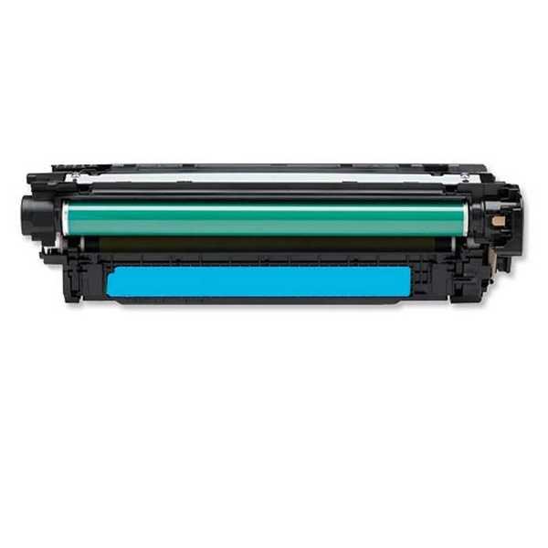 kompatibilní toner s HP 507A, HP CE401A (6000 stran) cyan modrý azurový toner pro tiskárnu HP Color LaserJet 4700ph plus