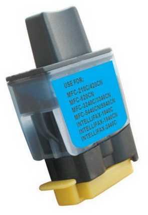 Brother LC900C/LC950C modrá cyan azurová barva kompatibilních náplní pro tiskárnu Brother DCP-315CN