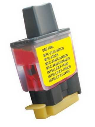 Brother LC900Y/LC950Y yellow cartridge žlutá inkoustová kompatibilní náplň pro tiskárnu Brother DCP-315CN