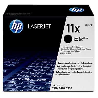 originální HP 11X, HP Q6511X black černý originální toner pro tiskárnu HP LaserJet 2430t