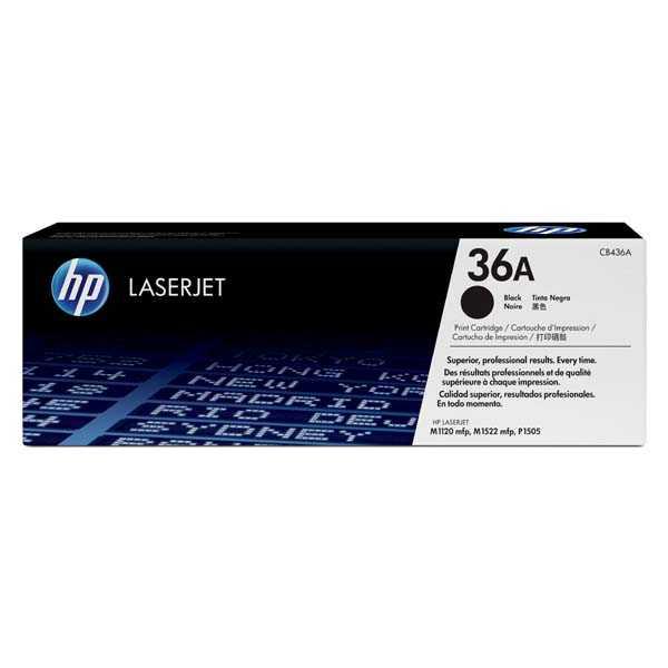 originál HP 36A, HP CB436A (2000 stran) černý originální toner pro tiskárnu HP LaserJet P1505