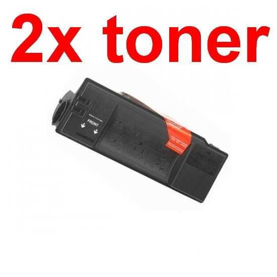 2x kompatibilní toner s Kyocera TK-50 (370QA0KX) black černý toner pro tiskárnu Kyocera FS-1900