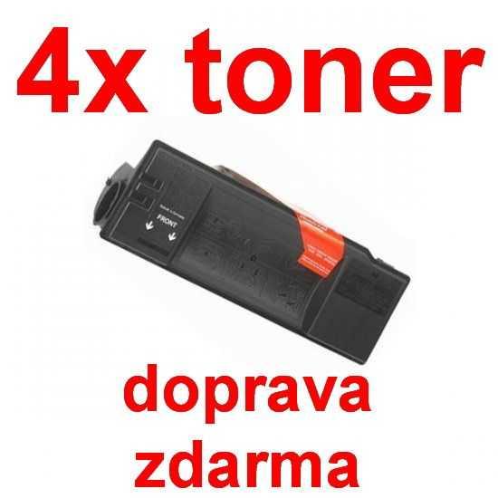 4x kompatibilní toner s Kyocera TK-50 (370QA0KX) black černý toner pro tiskárnu Kyocera FS-1900