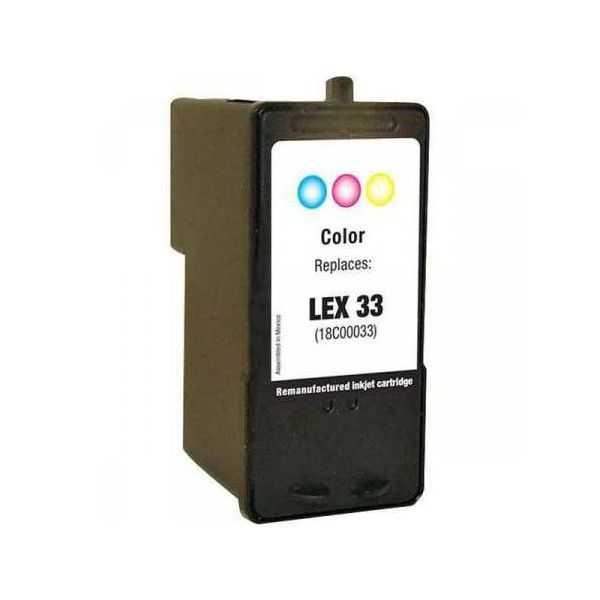 Lexmark 18C0033 - 33# color barevná inkoustová kompatibilní cartridge pro tiskárnu Lexmark P450