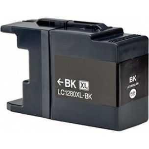 kompatibilní s Brother LC-1280XLBK black černá inkoustová cartridge pro tiskárnu Brother MFC-J6510DW