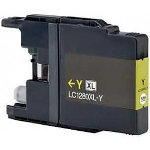 kompatibilní s Brother LC-1280XLY yellow žlutá inkoustová cartridge pro tiskárnu Brother MFC-J6510DW