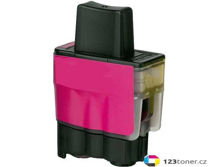 kompatibilní s Brother LC900M/LC950M purpurová magenta červená barva náplní pro tiskárnu Brother DCP-120C