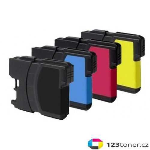 sada Brother LC980/LC1100 cartridge kompatibilní inkoustová náplň pro tiskárnu Brother DCP-145C