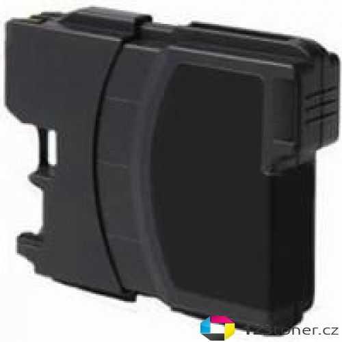 kompatibilní s Brother LC980BK/LC1100BK black cartridge černá inkoustová náplň pro tiskárnu Brother DCP-145C