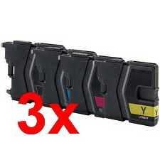 3x sada Brother LC-985 cartridge kompatibilní inkoustová náplň pro tiskárnu Brother MFC-J415W