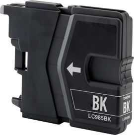 kompatibilní s Brother LC985bk black cartridge černá inkoustová náplň pro tiskárnu Brother MFC-J415W