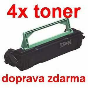 4x kompatibilní toner s Minolta PagePro 1200 1710405002 black černý toner pro tiskárnu Konica Minolta PagePro 8