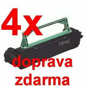 4x kompatibilní toner s Minolta PagePro 1300 black černý toner pro tiskárnu Konica Minolta PagePro 1350E