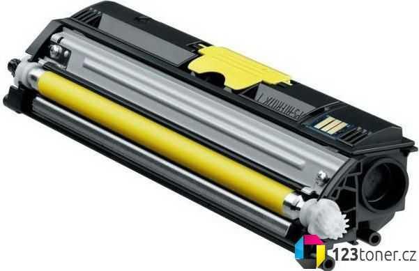 kompatibilní toner s Konica-Minolta A0V306H (M1600y) yellow žlutý toner pro tiskárnu Konica Minolta Magicolor 1650EN