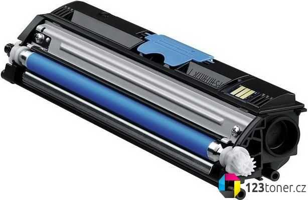 kompatibilní toner s Konica-Minolta A0V30HH (M1600c) cyan modrý azurový toner pro tiskárnu Konica Minolta Magicolor 1600W