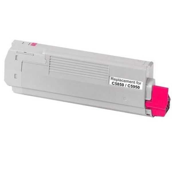 kompatibilní toner s OKI 43324422 magenta purpurový červený toner pro tiskárnu OKI C5550MFP