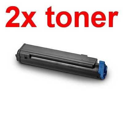 2x kompatibilní toner s OKI O410 (43979102) black černý toner pro tiskárnu OKI B430dn