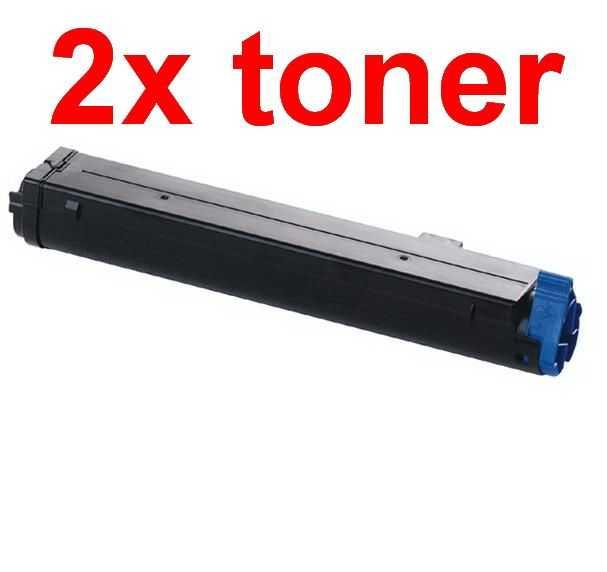 2x kompatibilní toner s OKI O4400 (43502302) black černý toner pro tiskárnu OKI B4600ps