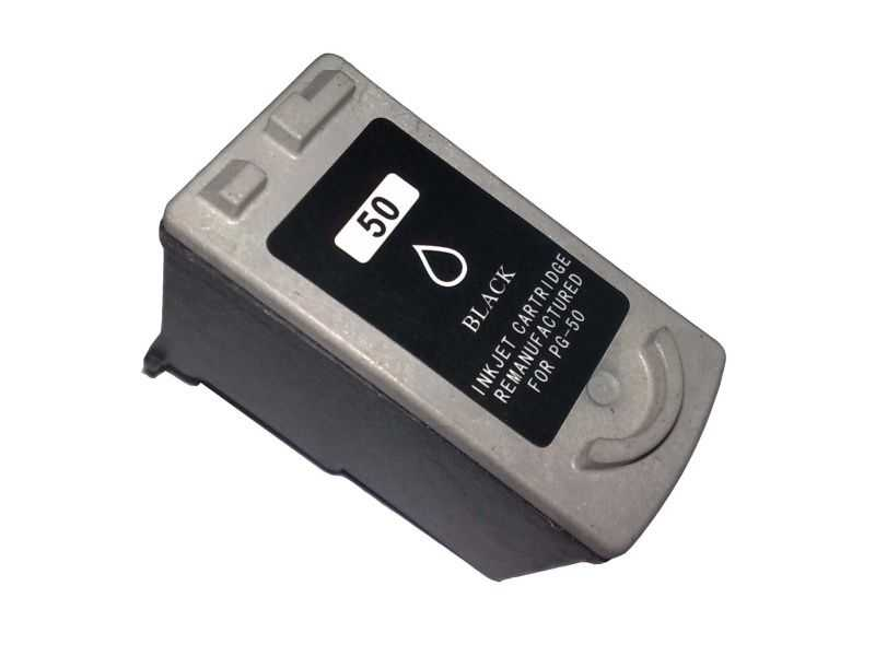 Canon PG-50 black černá kompatibilní cartridge inkoustová náplň pro tiskárnu Canon FAX-JX500