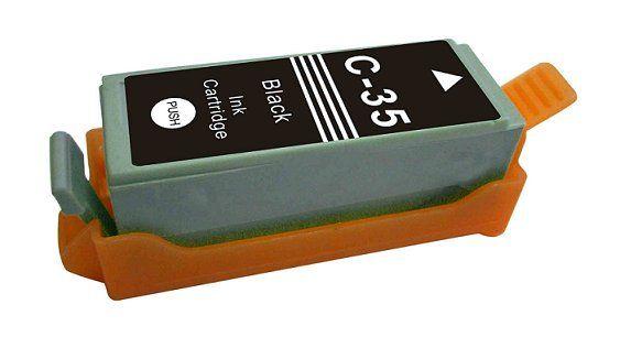 kompatibilní s Canon PGi-35 black cartridge černá inkoustová náplň pro tiskárnu Canon PIXMA iP100
