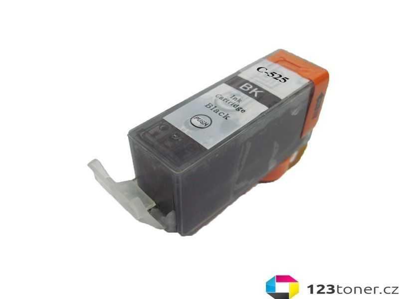 kompatibilní s Canon PGI-525bk black cartridge černá inkoustová náplň pro tiskárnu Canon PIXMA iP4950