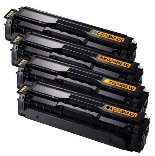 sada kompatibilních tonerů s Samsung CLT-P504S (CLT-K504S, CLT-C504S, CLT-M504S, CLT-Y504S) tonery pro tiskárnu Samsung SL-C1860FW