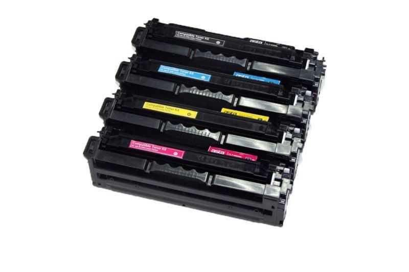 sada kompatibilních tonerů s Samsung CLT-P506L (CLT-K506L, CLT-C506L, CLT-M506L, CLT-Y506L) tonery pro tiskárnu Samsung CLX-6260FD