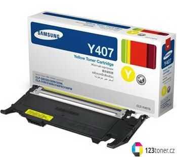 originál Samsung CLT-Y4072S yellow žlutý originální toner pro tiskárnu Samsung CLP-325