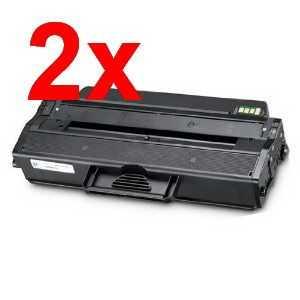 2x kompatibilní toner s Samsung MLT-D103L black černý toner pro laserovou tiskárnu Samsung SCX-4726FN