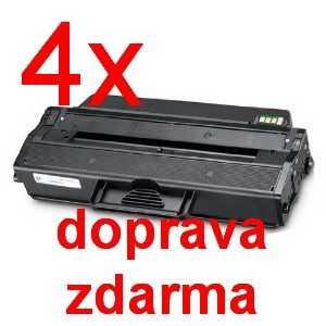 4x kompatibilní toner s Samsung MLT-D103L black černý toner pro laserovou tiskárnu Samsung SCX-4726FN