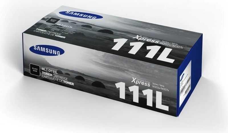 originál Samsung MLT-D111L (1800 stran) black černý originální toner pro tiskárnu Samsung Xpress M2070 series